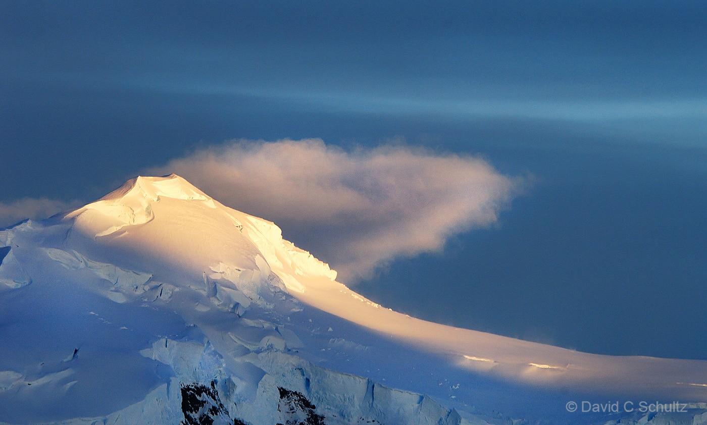 Sunset along the Antarctic Peninsula - Image #166-452