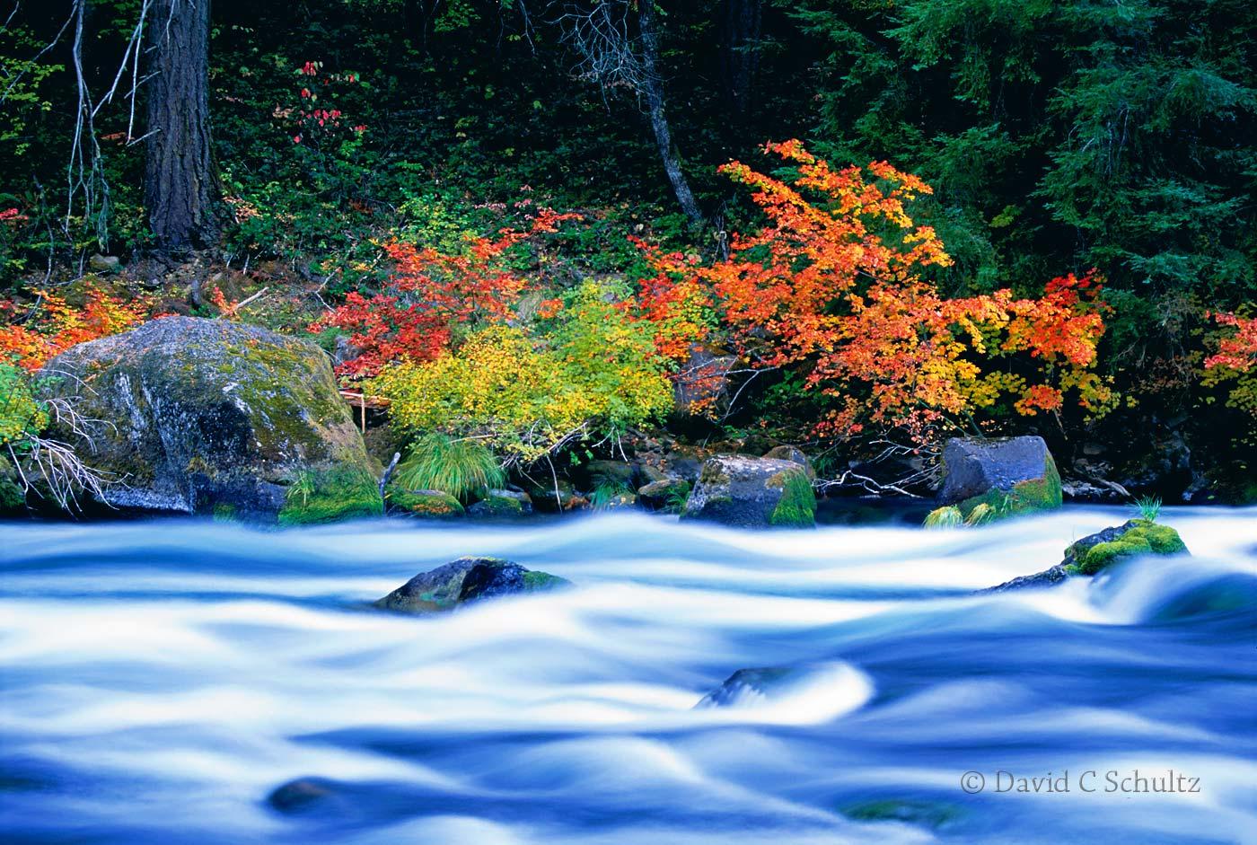 North Umpqua River, Oregon - Image #3-2363