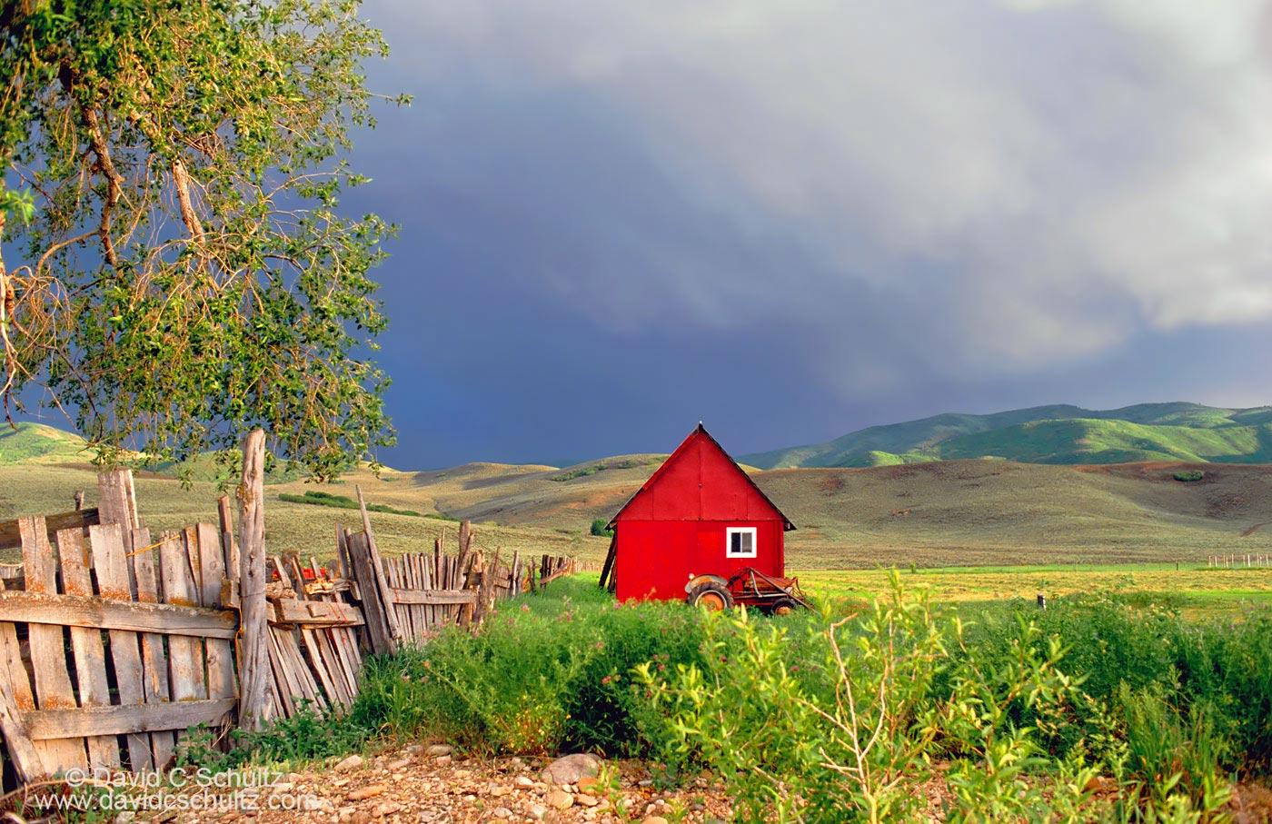 Red barn Heber Utah - Image #13-55