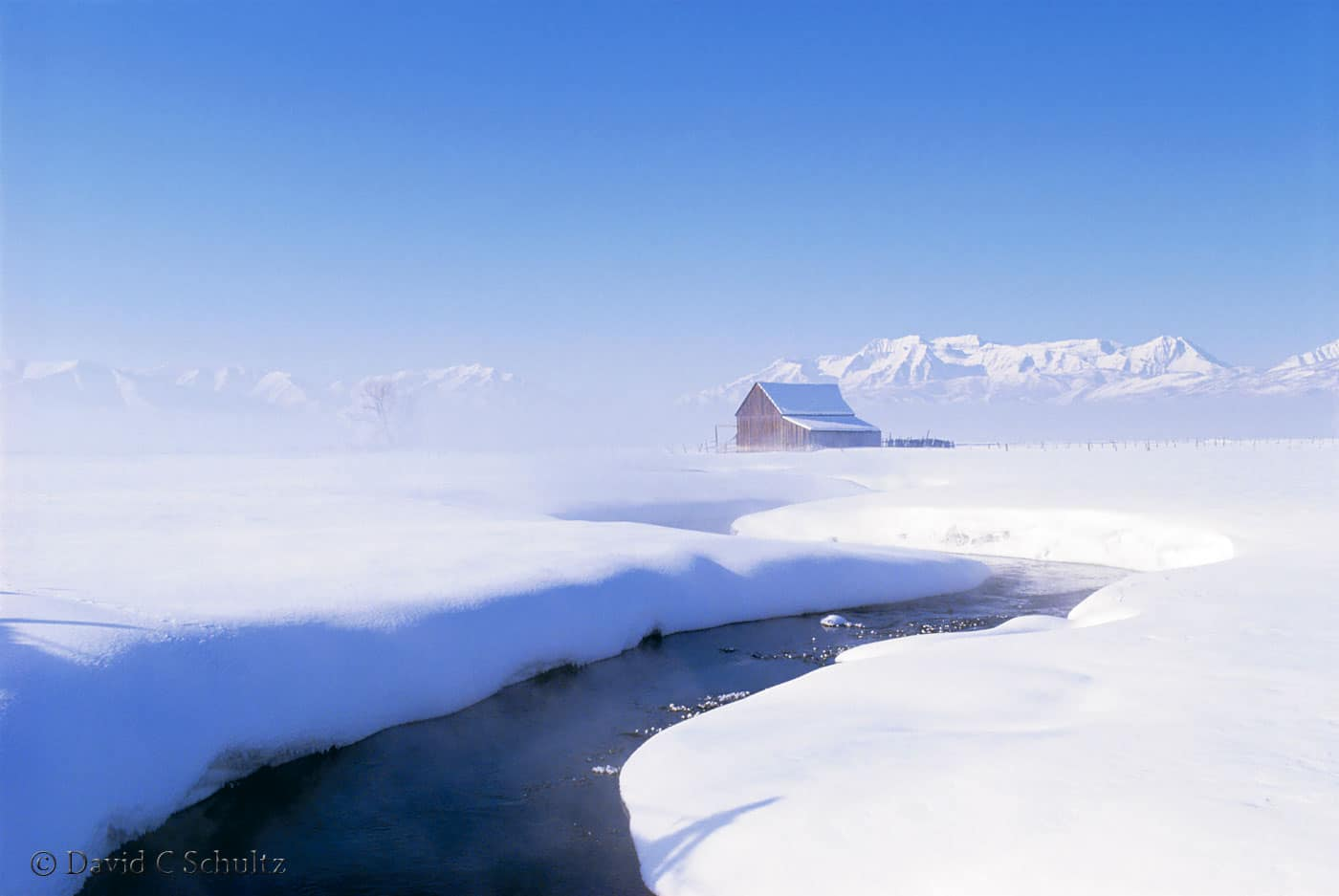 Winter, The North Fields, Heber Valley, UT - Image #102-57