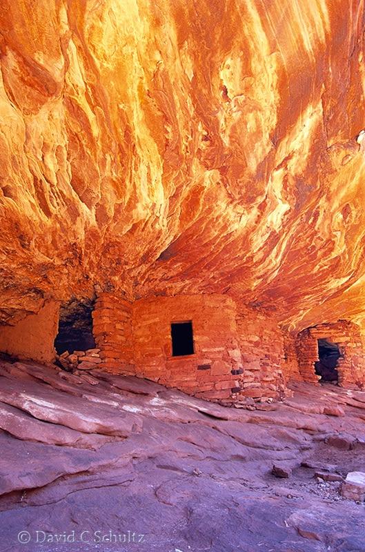 House on Fire Ruins, Utah - Image #162-16