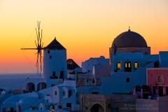 Sunset at Oia, Santorini, Greece - Image #202-631