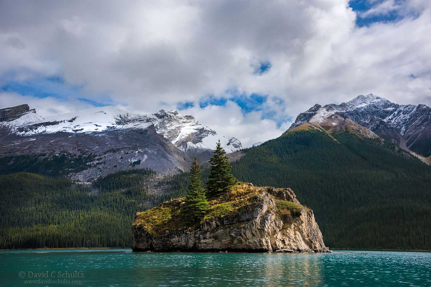 Maligne Lake, Jasper National Park, Canada - Image #125-553