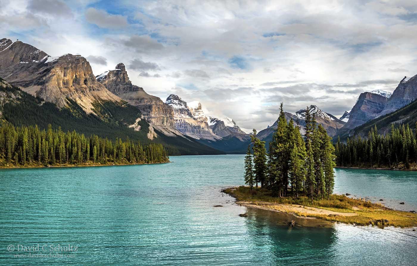 Spirit Island, Jasper National Park, Canada - Image #125-648