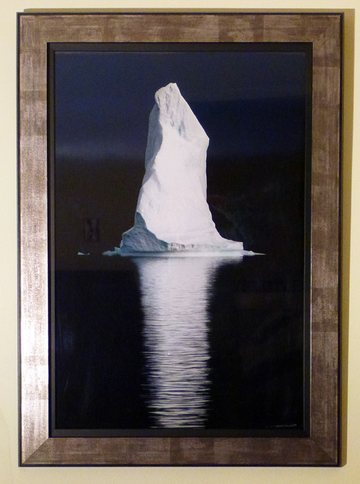 "#13 ""Polar Pinnacle"" Iceberg in Greenland, 26x36"" with frame"