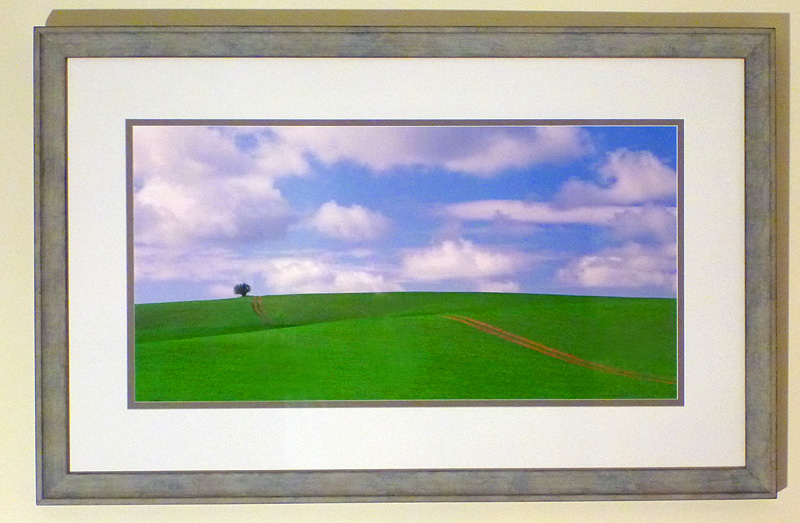 "#27 The Palouse Country, WA, 40x25"" with frame"