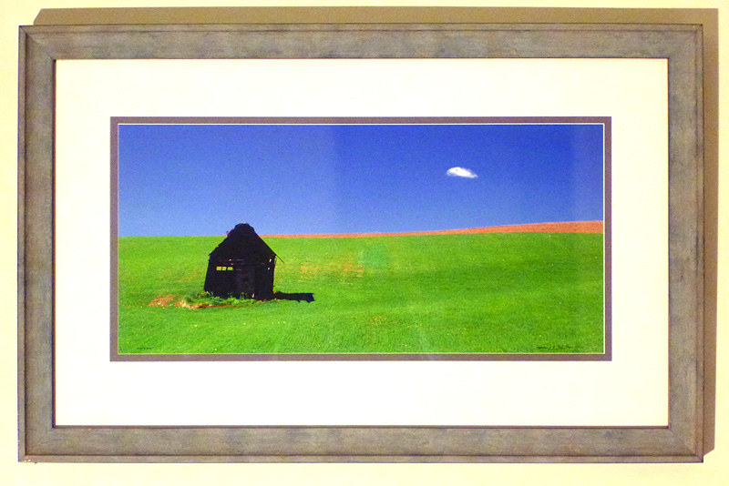 "#29 ""Puff"" Thayne, Wyoming, 34x21"" with frame"