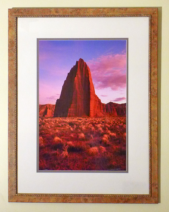 "#31 Temple of the Sun, Utah, 44x34"" with frame"