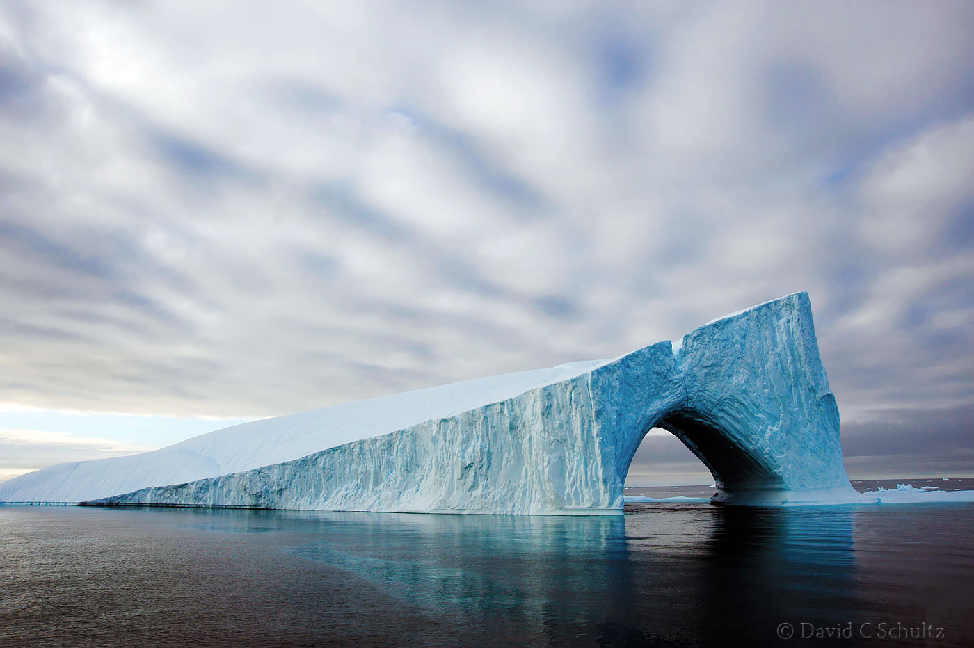Iceberg in Baffin Bay near Greenland - Image #167-0679