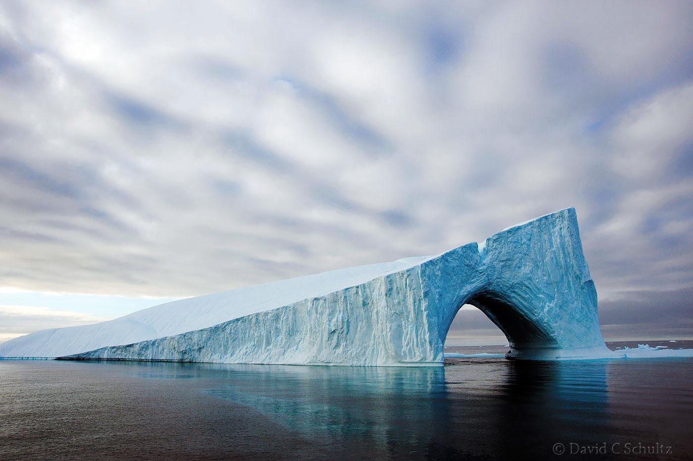 Iceberg in Baffin Bay near Greenland - Image #167-0679