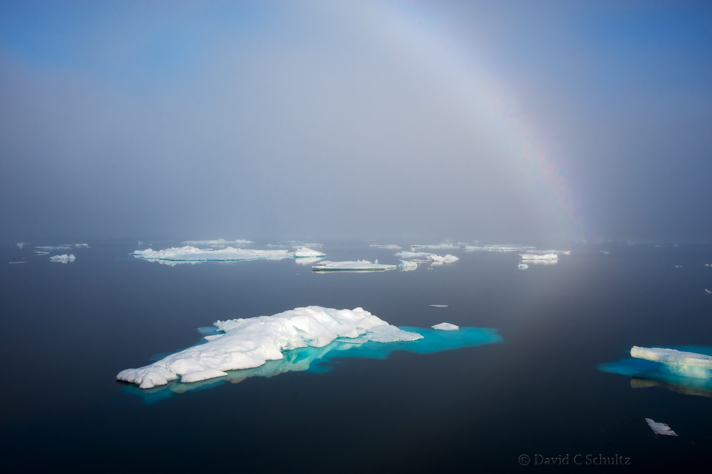 Icebergs in Baffin Bay - Image #167-0626
