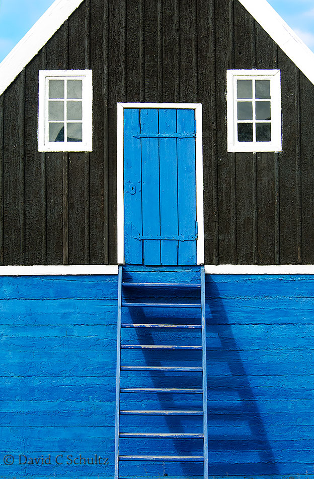 Doorway in Illulisat, Greenland - Image #172-084