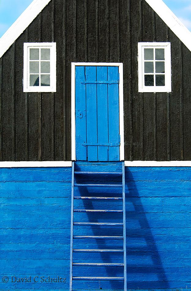 Doorway in Illulisat, Greenland - Image #172-084