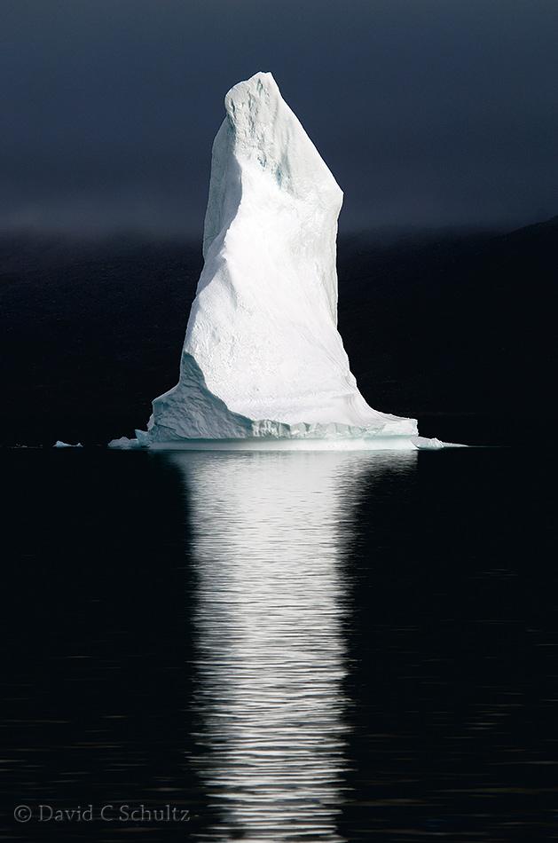 Iceberg in Scoresbysund Fjord - Image #167-318