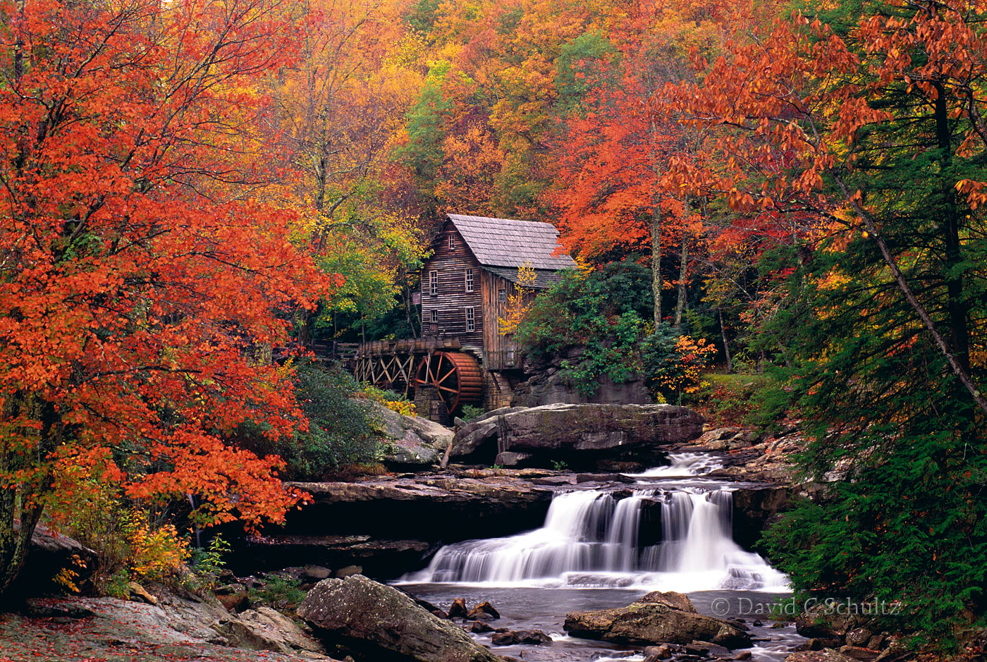Glade Creek Grist Mill - Image #129-97