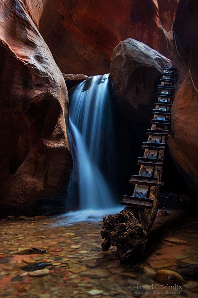 Kanarra Creek Falls, Utah-Image #33-6168