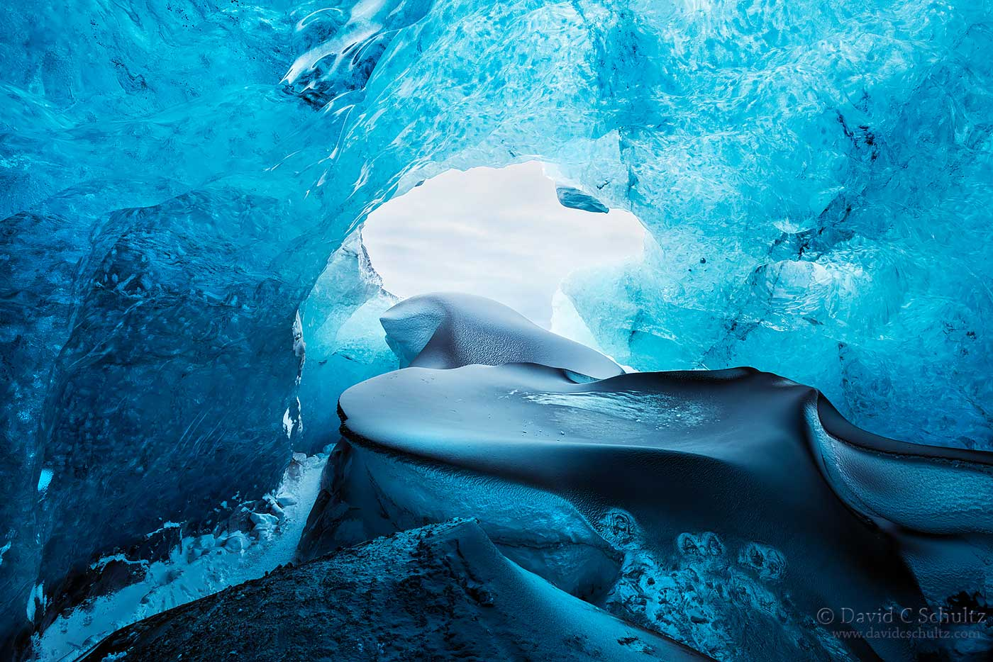 Iceland ice cave - Image #211-1500