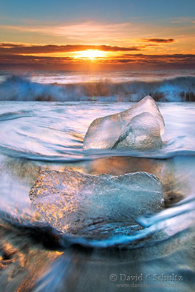 Jokulsarlon Glacier Lagoon, Iceland - Image #211-423