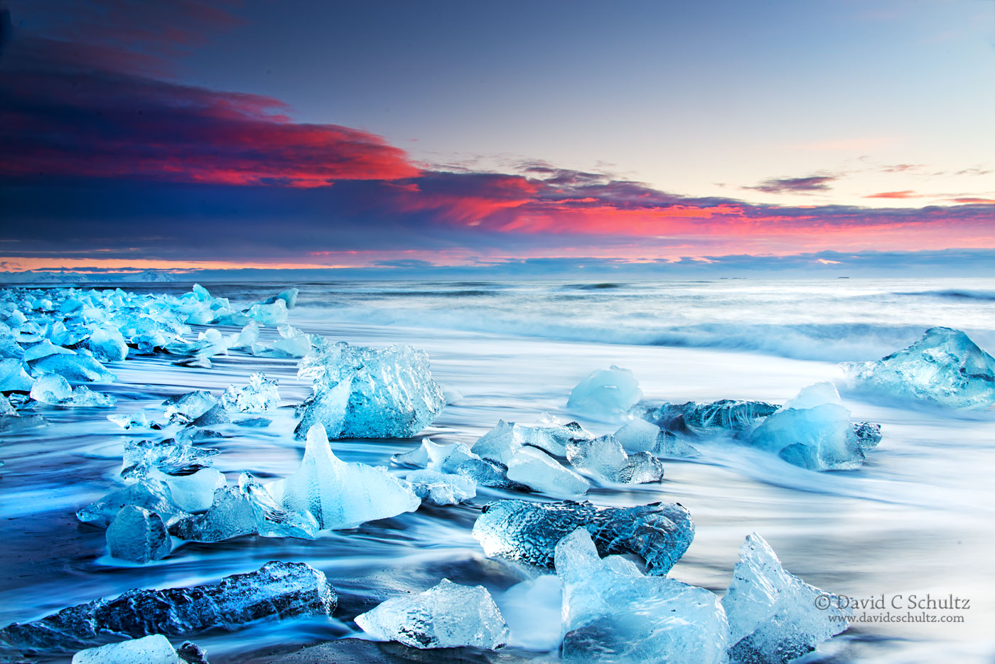 Jokulsarlon Glacier Lagoon, Iceland - Image #211-329