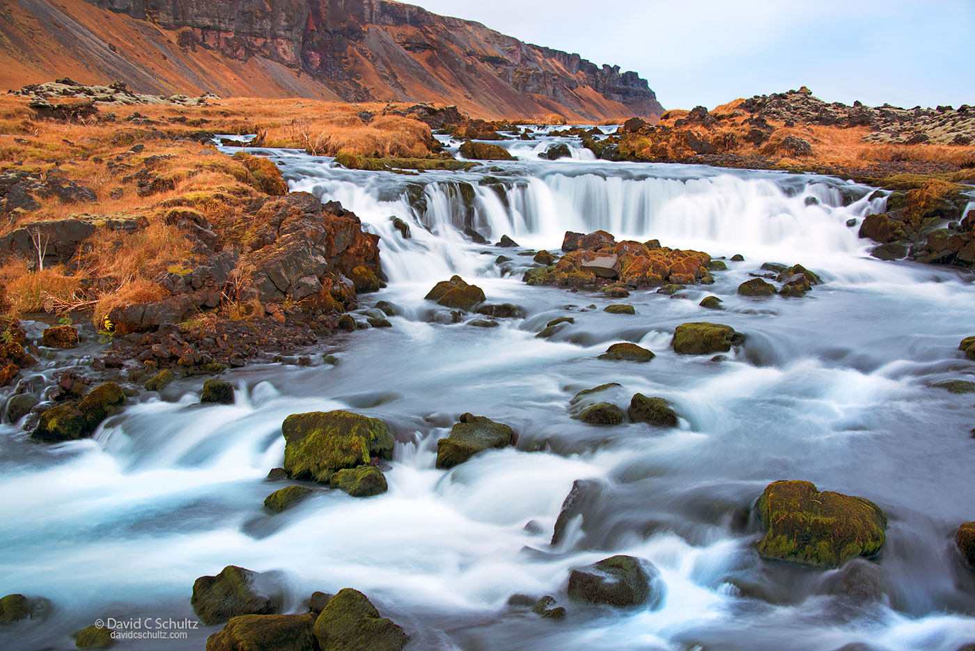 Iceland Waterfall - Image #211-4