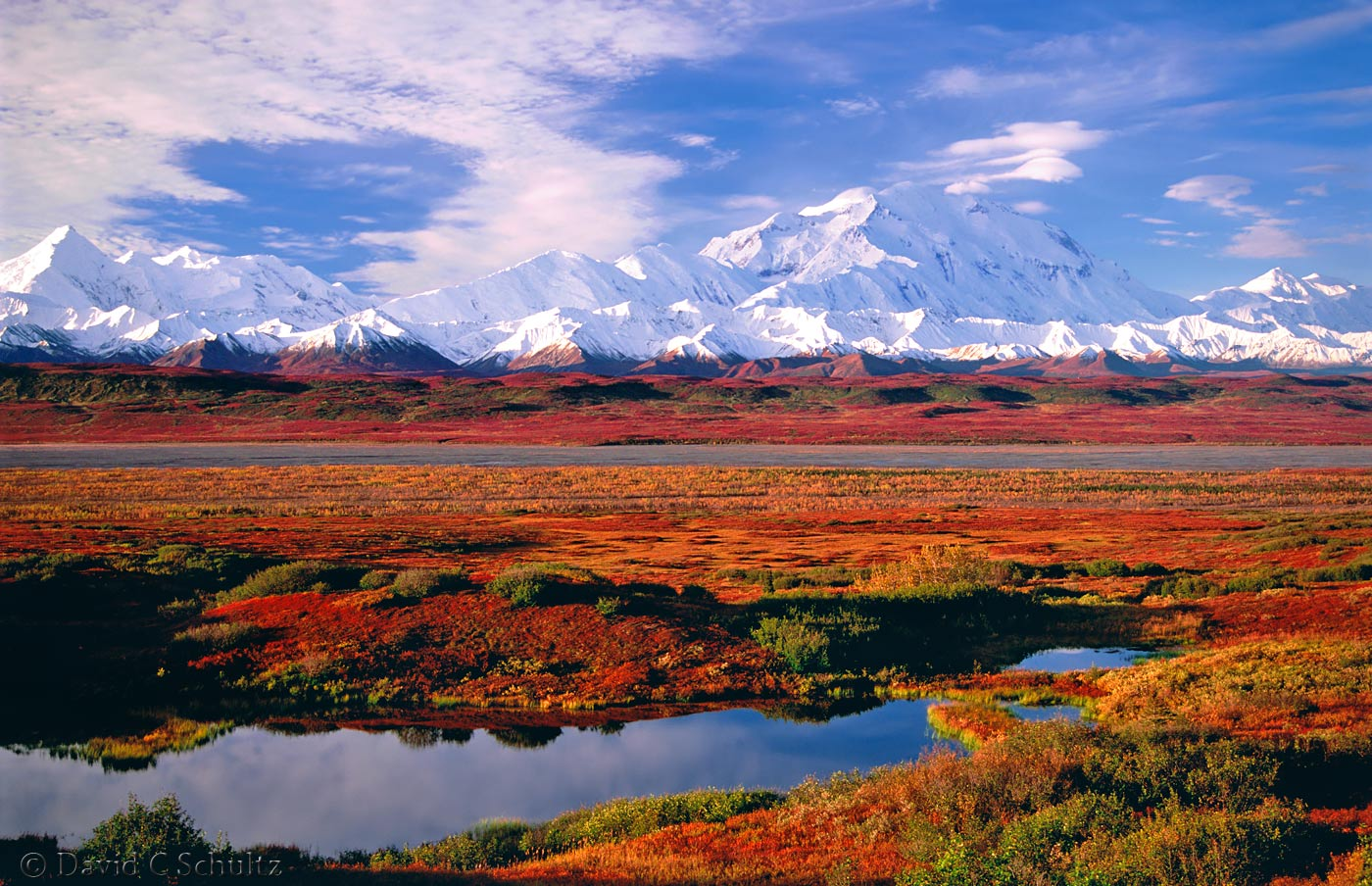 Mount McKinley in Denali National Park, Alaska - Image #153-303
