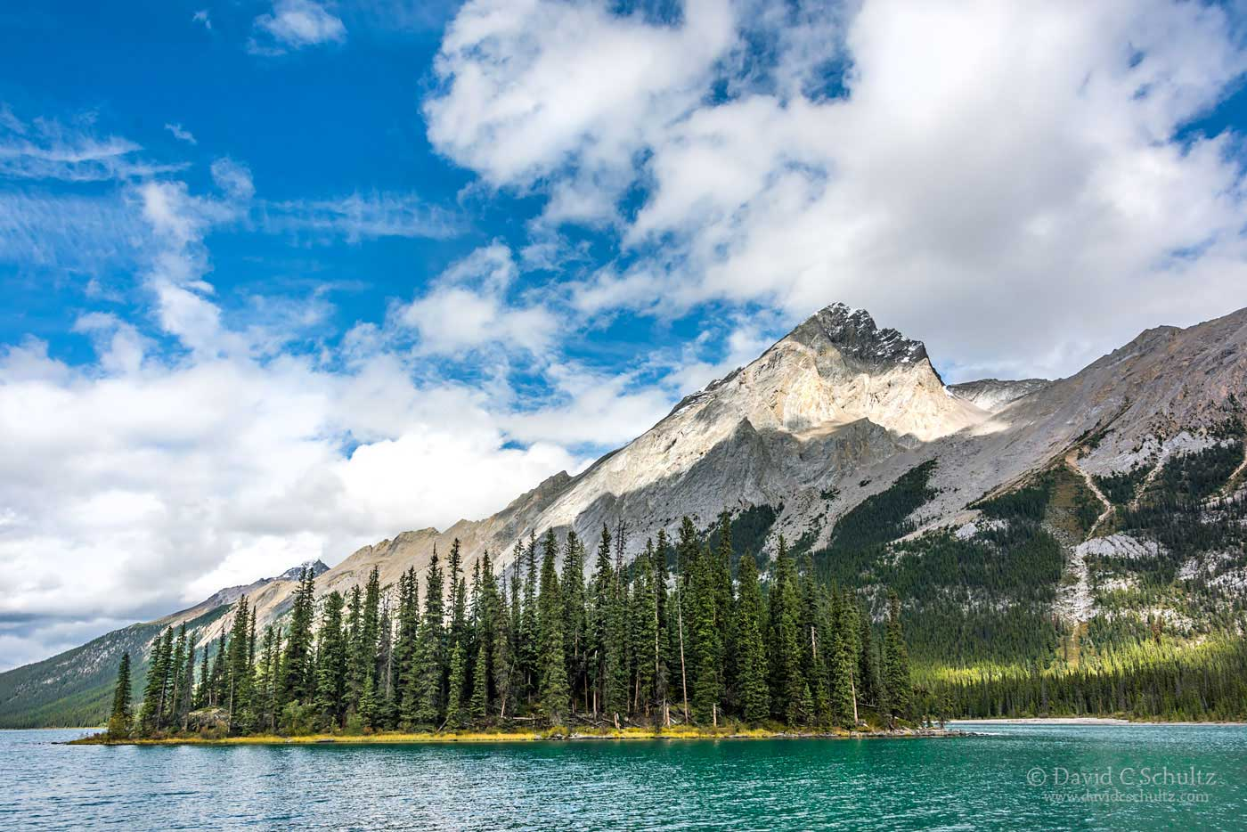 Maligne Lake, Jasper National Park, Canada - Image #125-594