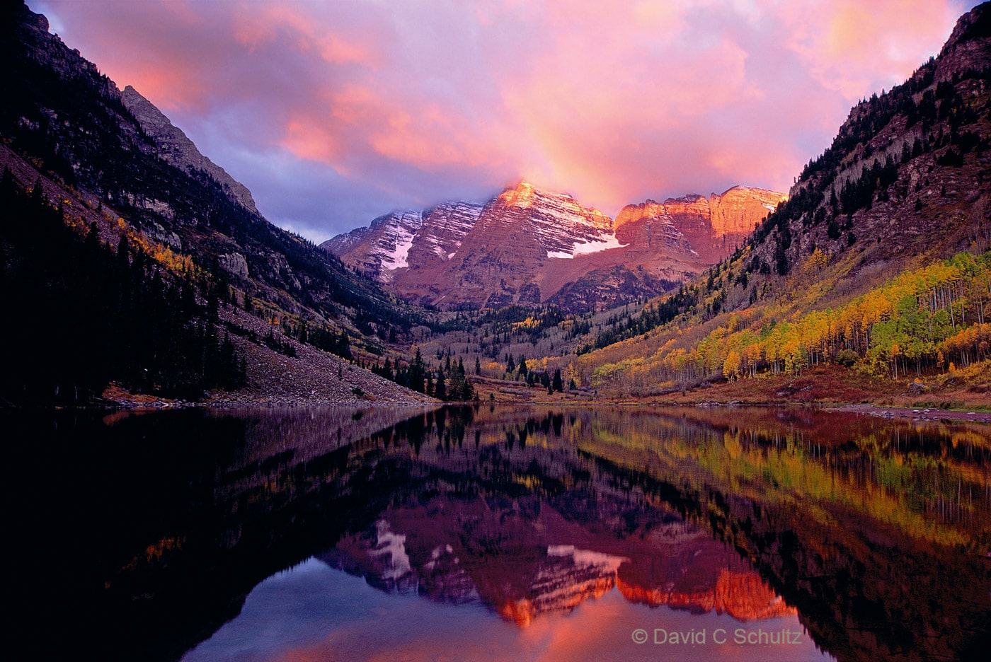 The Maroon Bells, CO - Image #68-3398