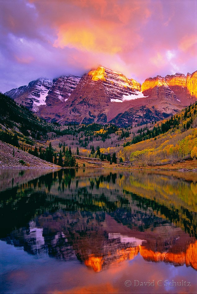 The Maroon Bells, CO - Image #68-3410