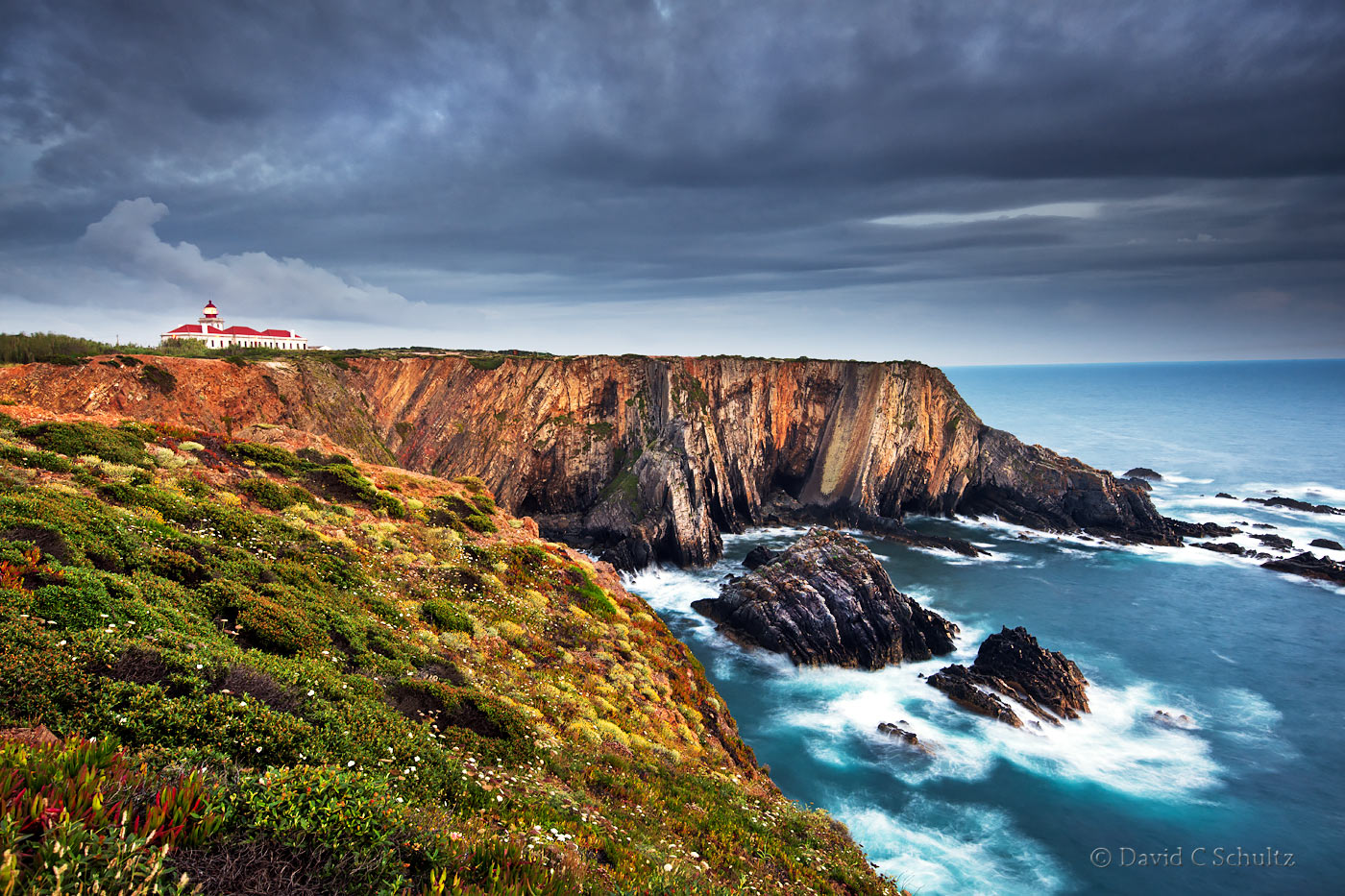 Cabo Sardo Lighthouse, Portugal - Image #57-1882