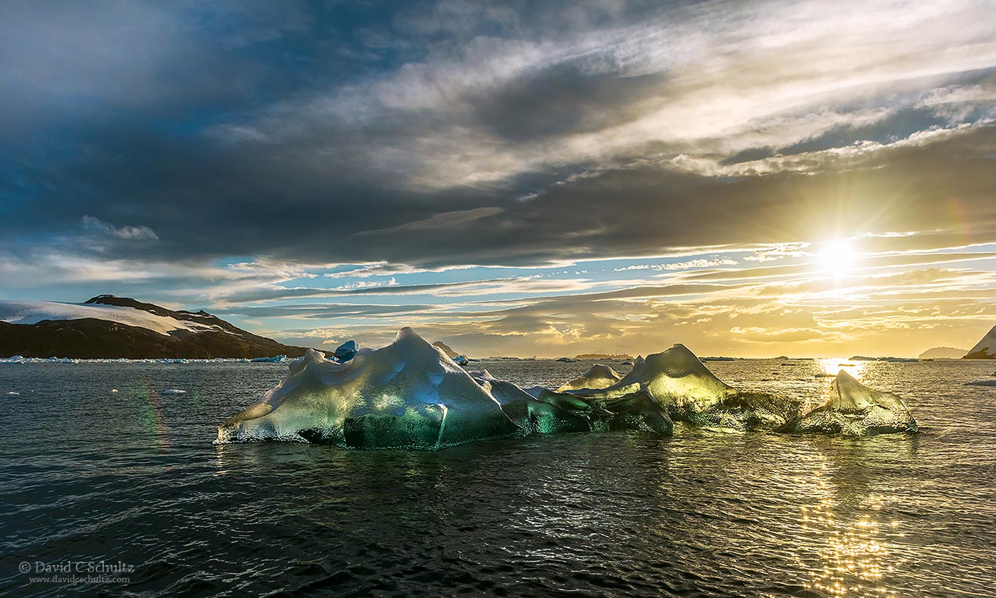 Iceberg in Antarctica - Image #166-4112