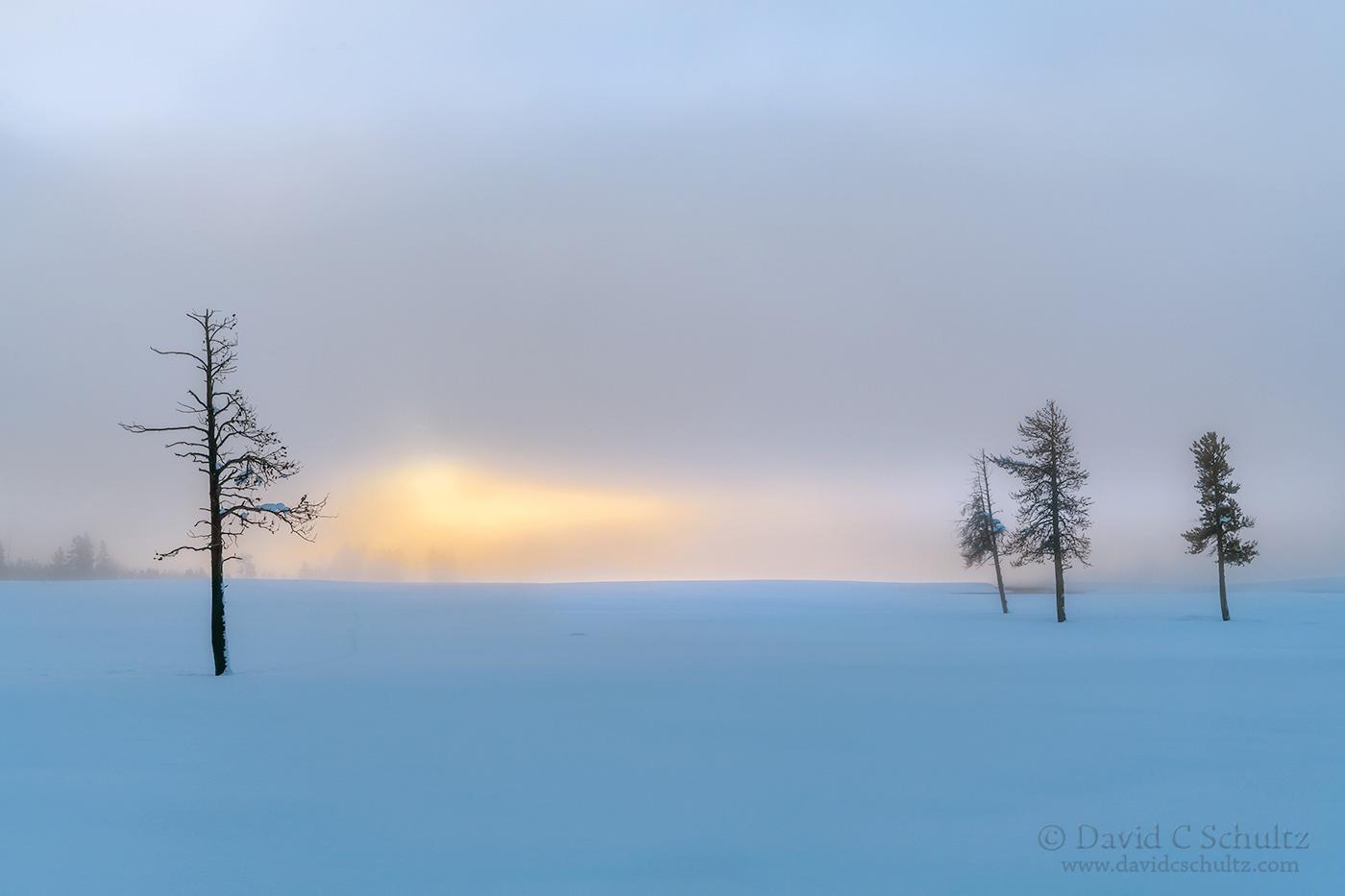 Sunrise in Yellowstone - Image #106-4403