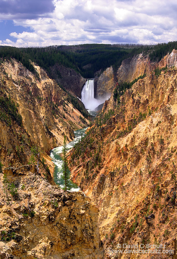 Upper Yellowstone Falls - Image #106-1783
