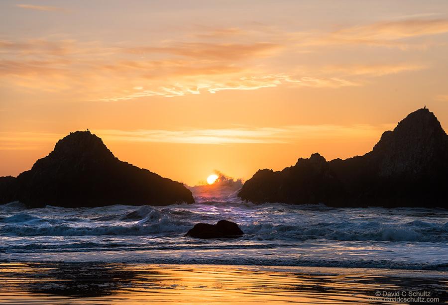 Sunset at Seal Rock Oregon