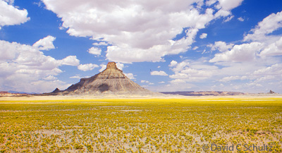 Factory Butte near Hanksville, Utah