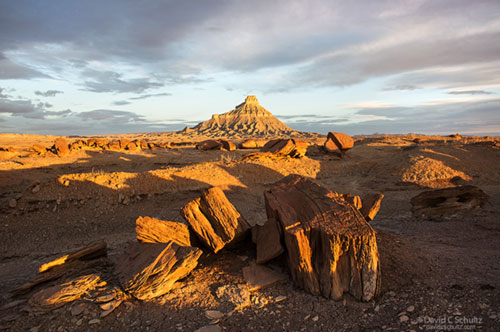 Factory Butte in the Caineville Wash area during Southern Utah Photo Tour.