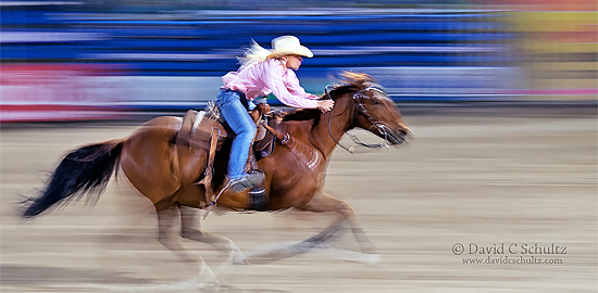 Jackson Hole Rodeo during the Grand Teton Photography Tour