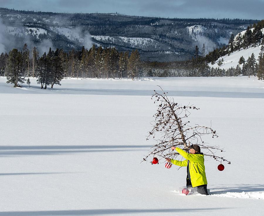 Christmas in Yellowstone photoraphy tour