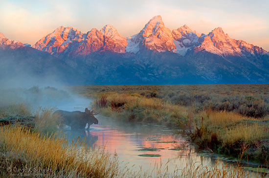 Grand Teton photography tour in the fall