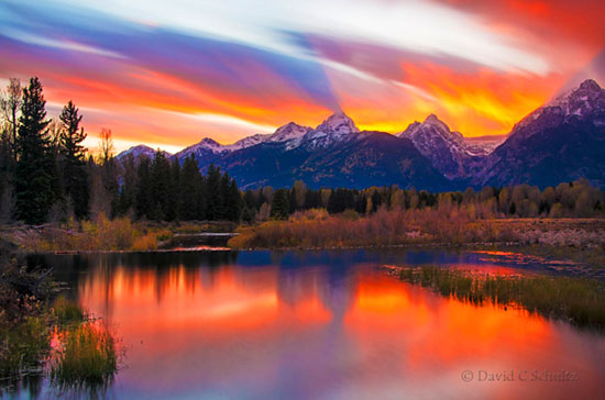 Autumn Grand Teton photo tour sunset