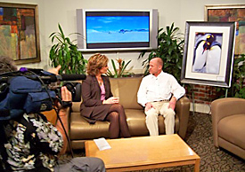 Landscape photographer David C Schultz on KUTV News