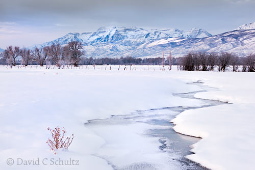 Park City photo tours with David C Schultz include exploring the Heber Valley during the winter months.