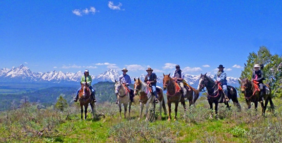 Grand Teton National Park horseback ride