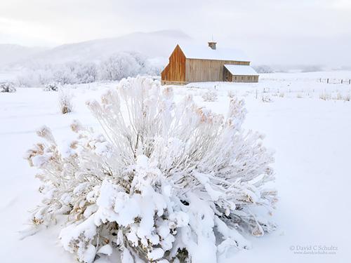 Tate barn photographed during a Park City Utah photo tour
